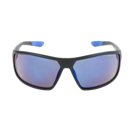 Men's EV0867 Sunglasses // Black + Gray + Blue