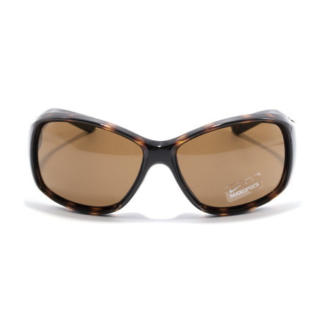 Women's Minx EV0579 Sunglasses // Tortoise + Brown Lens