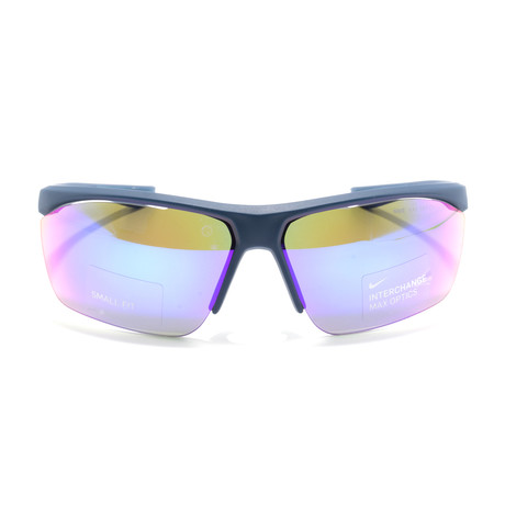 Men's Tailwind EV1108 Sunglasses // Matte Blue + Gray
