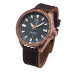 Vostok-Europe Almaz Bronze Automatic // NH35A/3200507