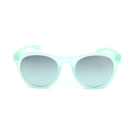 Unisex Essential Horizon Sunglasses // Matte Igloo + Teal