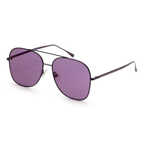 Women's 0378 Sunglasses // Palladium Violet + Violet