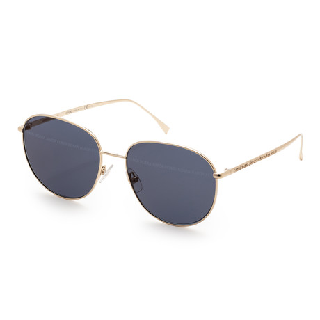 Women's 0379 Sunglasses // Gold