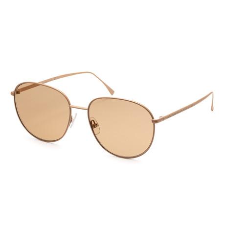 Women's 0379 Sunglasses // Beige + Gold