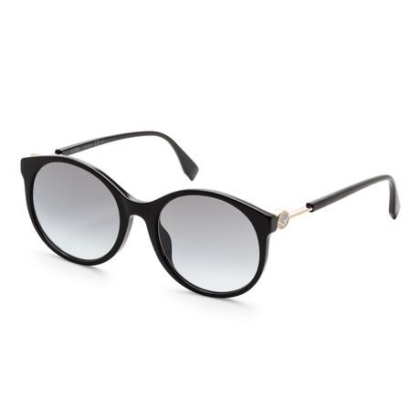 Women's 0362 Sunglasses // Black + Gray Azure