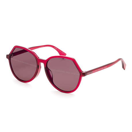 Women's 0397 Sunglasses // Red + Violet