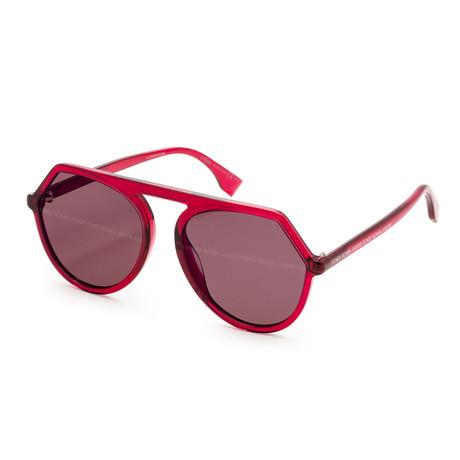 Women's 0375 Sunglasses // Cherry + Violet