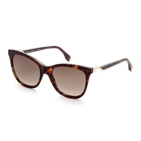 Women's 0200 Sunglasses // Havana + Brown Gradient