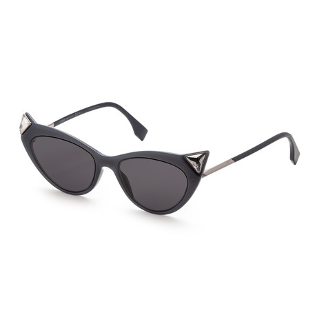 Women's Iridia Sunglasses // 52mm // Black Frame