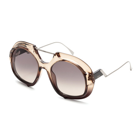 Men's Tropical Shine Sunglasses // Black + Dark Gray