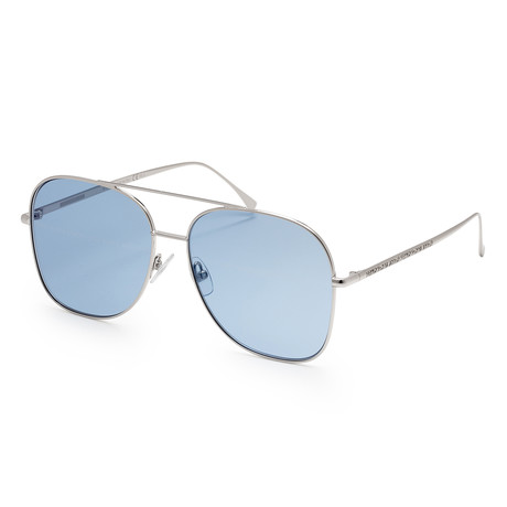 Women's 0378 Sunglasses // Palladium Azure