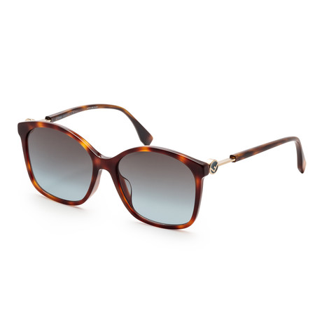 Women's 0361 Sunglasses // Dark Havana + Gray Gradient