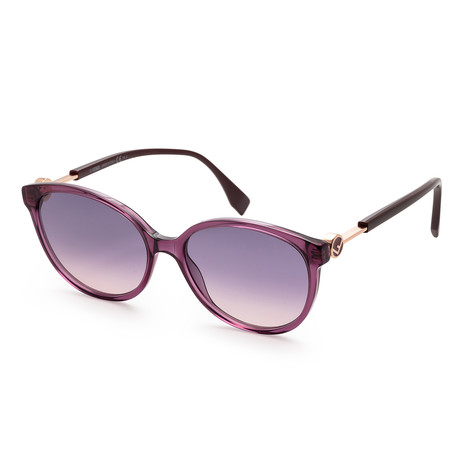 Women's Fashion Sunglasses // 59mm // Plum Frame