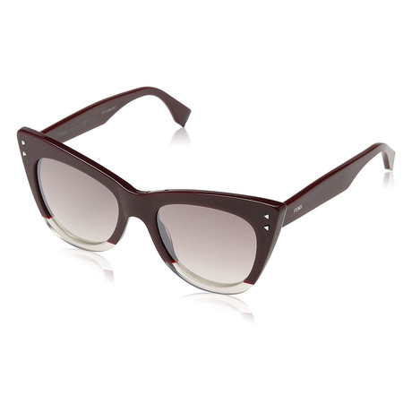 Women's 0238S Sunglasses // Opal + Burgundy + Pink