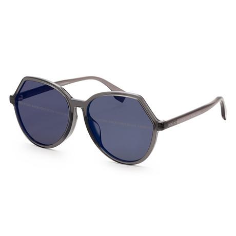 Women's 0397 Sunglasses // Gray + Dark Gray Gradient