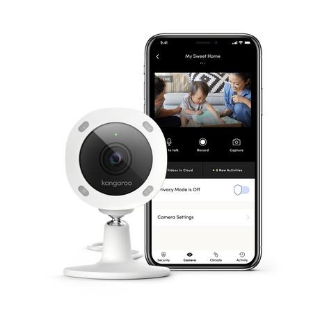 Kangaroo 10 Piece Security Kit and Camera Bundle + 1 Year Pro Monitoring