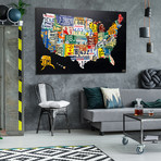 License Plate Map // United States