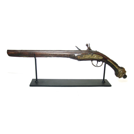 Massive 18th-19th Century Ottoman Flintlock Pistol