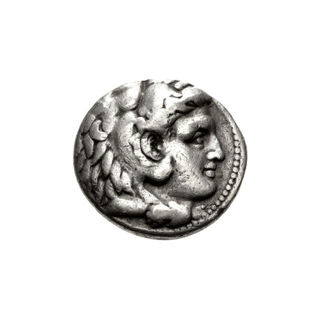Alexander the Great Large Silver Coin // Babylon Mint, Where He Died