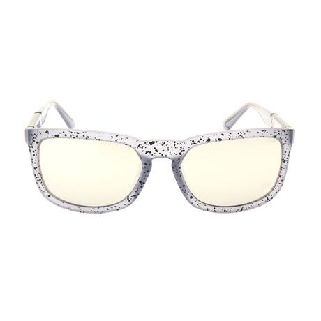 Unisex DL0262 Sunglasses // Gray Smoke Mirror