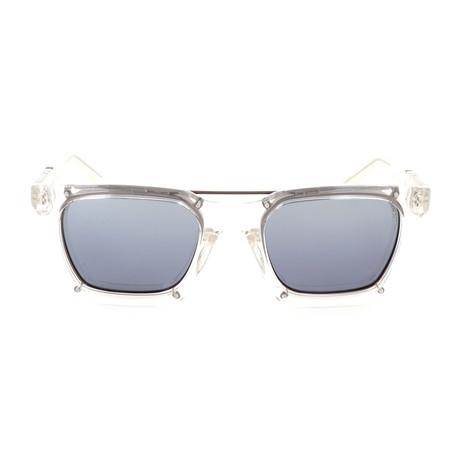 Men's DL0250 Polarized Sunglasses // Crystal + Smoke
