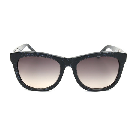 Unisex DL0055 Sunglasses // Black Gradient Smoke