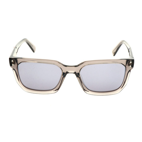 Men's DL0253 Sunglasses // Gray Smoke Mirror