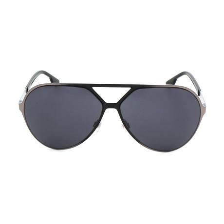 Unisex DL0114 Sunglasses // Shiny Gunmetal + Smoke