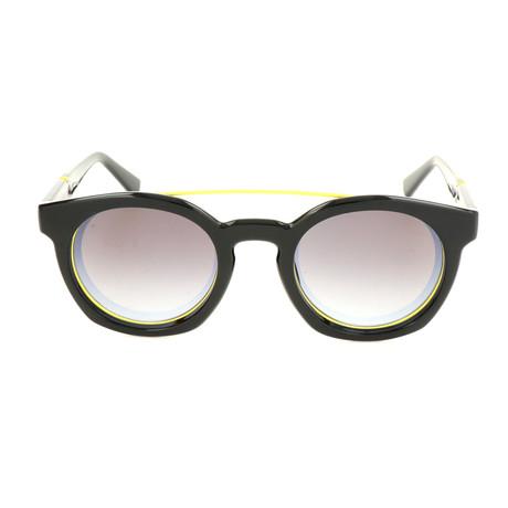Unisex DL0251 Polarized Sunglasses // Shiny Black + Smoke