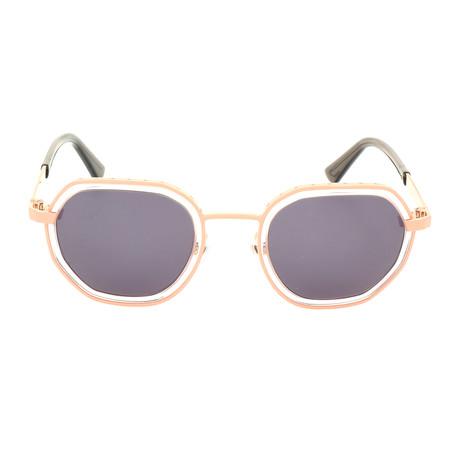 Unisex DL0267 Sunglasses // Matte Pink + Smoke