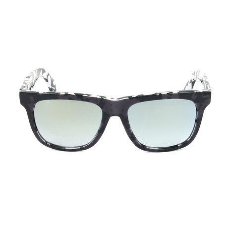 Unisex DL0116 Sunglasses // Black Smoke Mirror