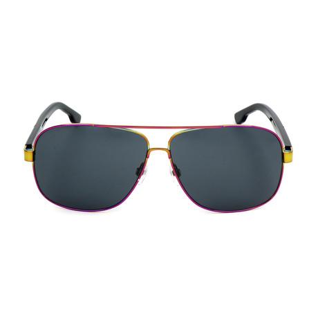 Men's DL0125 Sunglasses // Blue Smoke