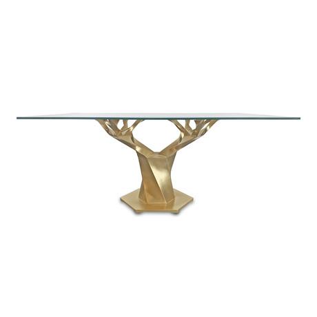 Teâshí Coffee Table // Inception Series // Gold