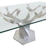 Teâshí Coffee Table // Inception Series // Silver