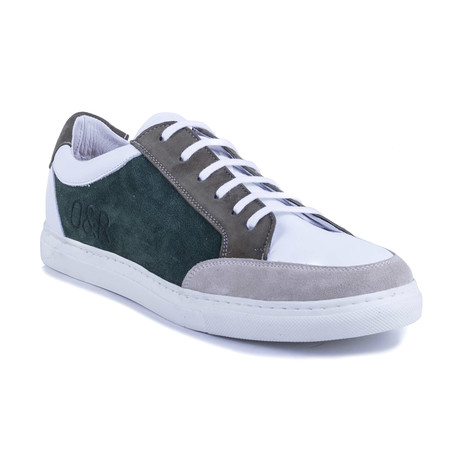 Sertivo Suede Sneakers // Green (Euro: 39)