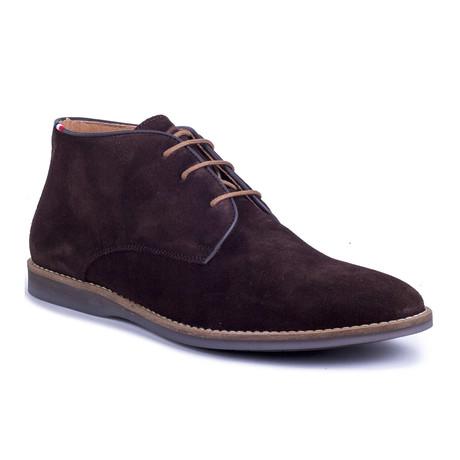 Seda Suede Boot // Brown (Euro: 39)