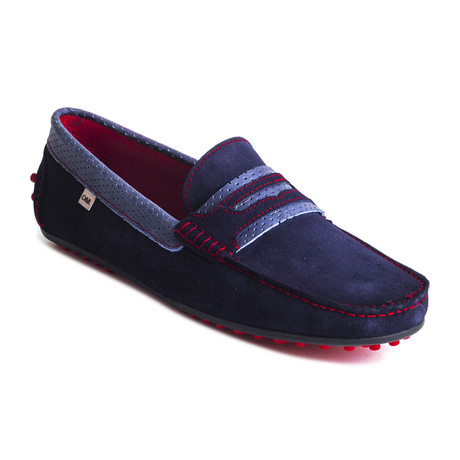 Rt-Sugo Suede Moccasin // Blue (Euro: 39)
