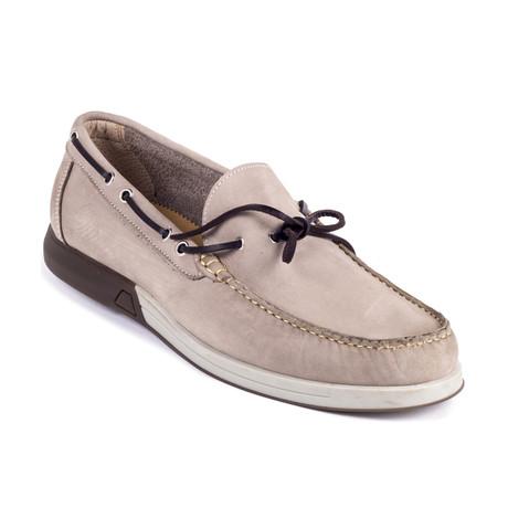 Sarano Suede Boat Shoe // Beige (Euro: 39)
