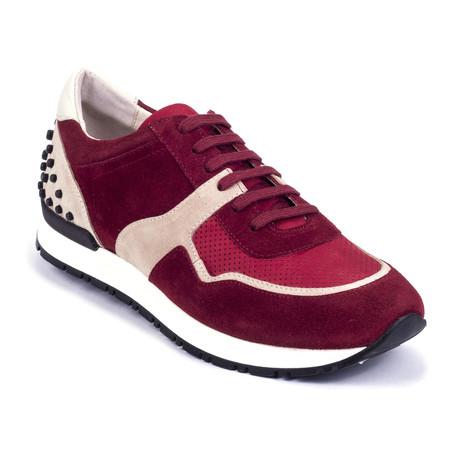 Rt-Sputnik Suede Sneakers // Burgundy, Beige (Euro: 39)
