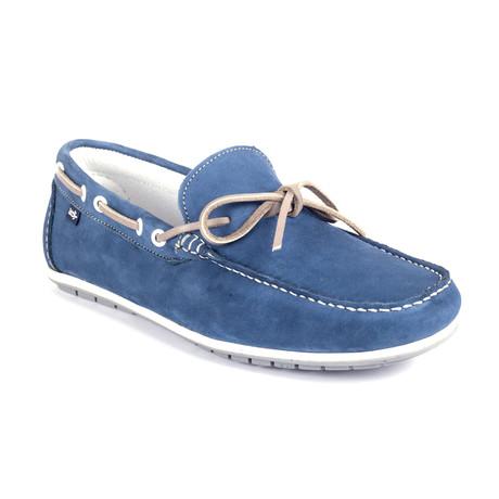 Socean Tabarca Suede Boat Shoe // Blue (Euro: 39)