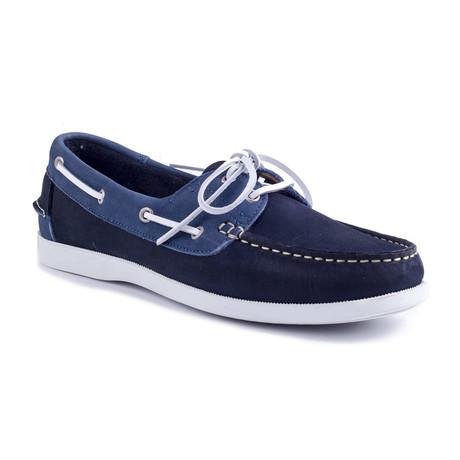 Nobico Nubuck Boat Shoe // Blue (Euro: 39)