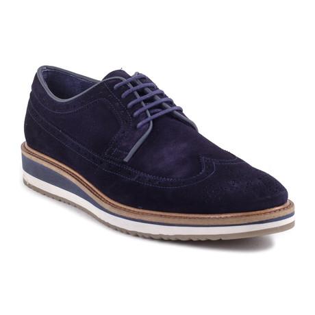 Stream Suede Sport Shoe // Blue (Euro: 39)