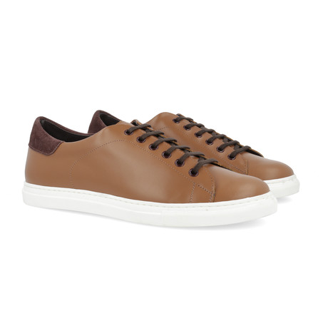 Betin Leather Sneakers // Cognac (Euro: 39)