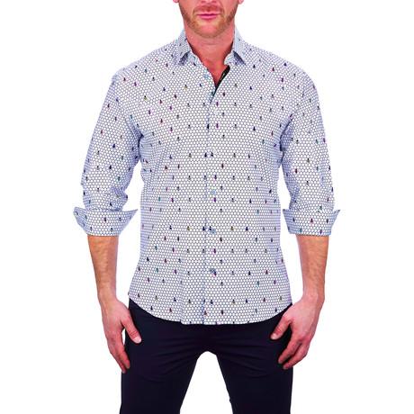 Fibonacci Dress Shirt // Black (S)