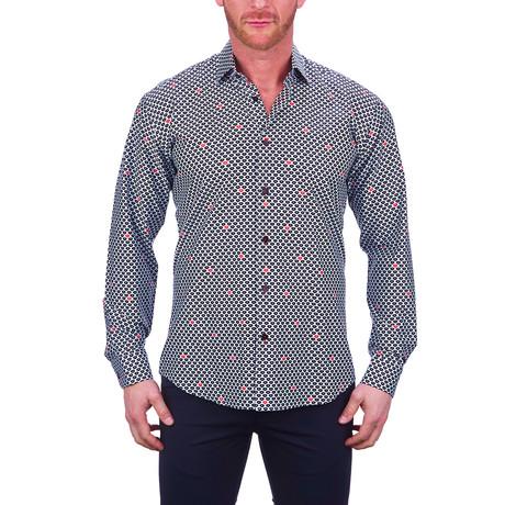 Fibonacci Blacklips Dress Shirt // Black (S)