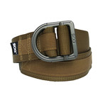 SOG Tactical Nylon Webbing Belt // Khaki (Small/Medium)