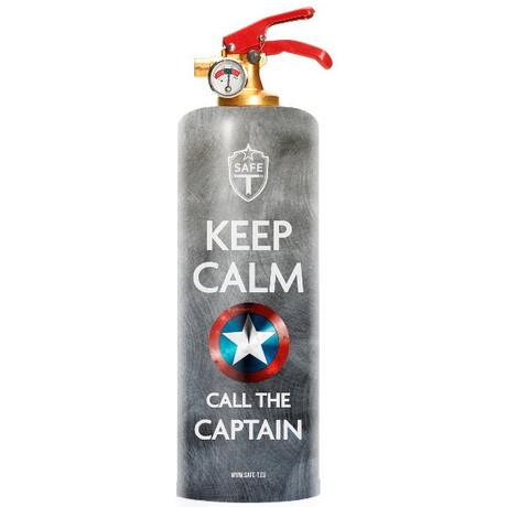 Safe-T Design Fire Extinguisher // Captain
