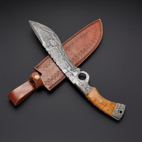 Finger Hunting Knife