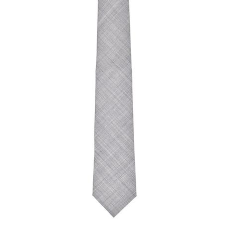Brunello Cucinelli // Wool Tie // Gray