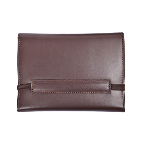 Leather Wallet // Dark Brown